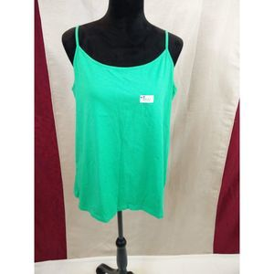 NWOT's XXL Faded Glory Green Camisole